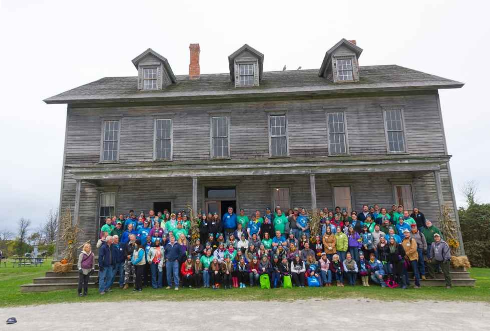 Fayette Historic State Park Group Photo